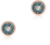 Monica Vinader Diamond Evil Eye Earrings
