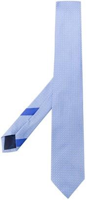 Salvatore Ferragamo Gancini embroidered tie
