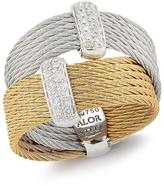 Alor Two-Tone Diamond Ring