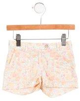 Bonpoint Girls' Floral Print Shorts