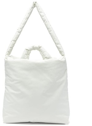 Kassl Editions - Oil Medium Padded Tote Bag - Womens - White