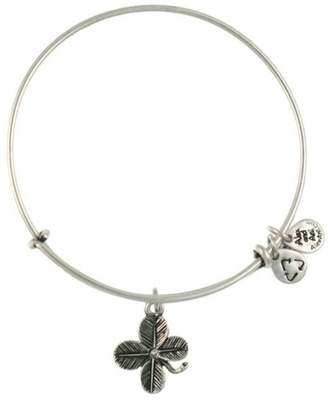 "Alex and Ani Lucky Clover"" Expandable Bangle"