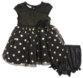 Frais Infant Girl's Sparkling Dot Dress