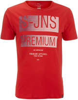 Smith & Jones Men's Trapezoid Crew Neck T-Shirt - True Red