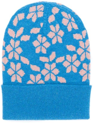 Barrie New Delft cashmere beanie