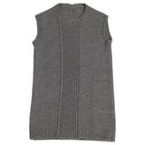 Prada Grey Wool Knitwear