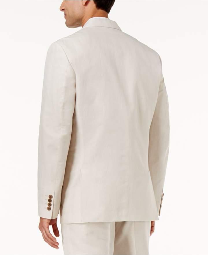 INC International Concepts Men's Linen Blend Blazer, Created for Macy's