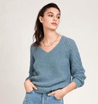 Margaux V Neck Sweater
