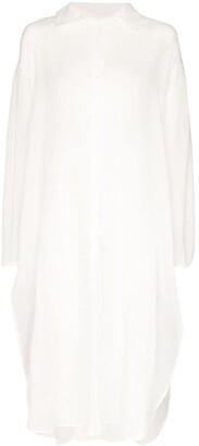 Shirt midi dress