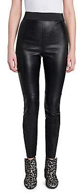 Dolce & Gabbana Women's Leather Leggings