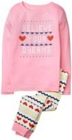 Crazy 8 Sparkle Believe 2-Piece Pajama Set