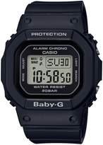Baby-G RETRO SQUARE DIGITAL WATCH BLACK