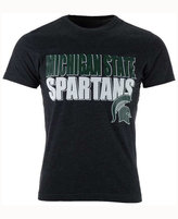 Colosseum Men's Michigan State Spartans Wordmark Stack T-Shirt