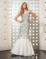 Jasz Couture - 4374 Dress in White