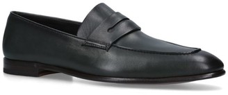 Ermenegildo Zegna Leather Asola Loafers