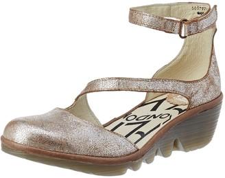 Fly London Women's Plan717Fly Ankle Strap Heels