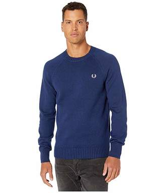 Fred Perry Contrast Texture Crew Neck Jumper