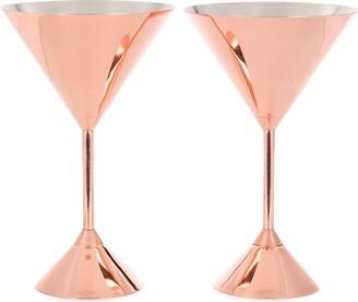 Tom Dixon Plum martini glasses (set of 2)