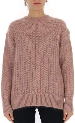 Alberta Ferretti Crewneck Knitted Sweater