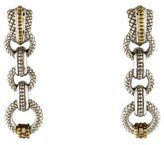 Judith Ripka Diamond Drop Earrings