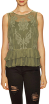 Gabby Embroidered Lace Top