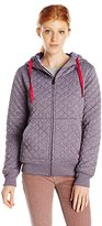 Volcom Junior's Tansy Quilted Fleece Hoodie