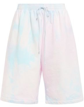 MM6 MAISON MARGIELA Tie-dyed French Cotton-terry Shorts