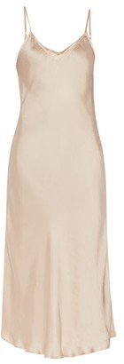 Mes Demoiselles Lolita Satin Slip Dress - Womens - Light Pink