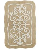 Lenox Bardwil Bath Accessories, French Perle Bath Rug