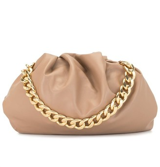 0711 Shi chain-handle tote bag