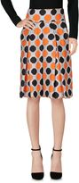 Milly Knee length skirts
