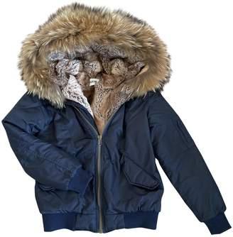 Ducie Blue Coat for Women