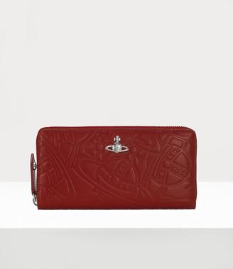 Vivienne Westwood Alexa Zip Round Wallet Red