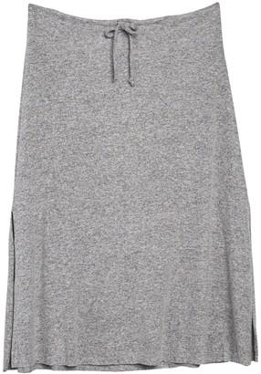 Gibson Cozy Fleece Maxi Skirt (Plus Size)