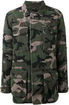 Valentino camouflage jacket - women - Cotton - 40