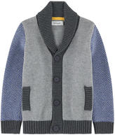 Jean Bourget Wool blend V-necked cardigan