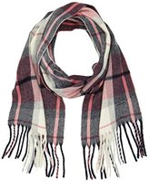 Gant Girl's Checked Wool Scarf