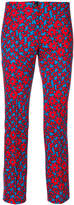 Marc Cain slim-fit printed trousers
