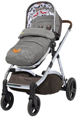 Cosatto Wow XL Pushchair, Carrycot, Mode adaptors, Raincover & Toy