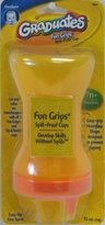 Gerber NUK Fun Grips Spilll Proof Cup 295 ml BPA Free, 1-count (3-Pack)