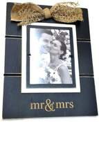 Mud Pie Mr&Mrs Photo Frame