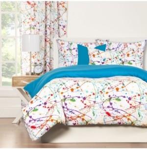 Crayola Splat 6 Piece King Luxury Duvet Set Bedding