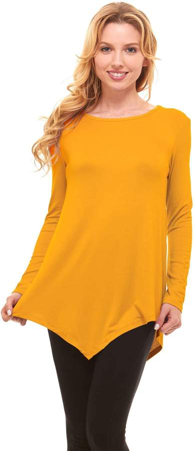 aba64a1a5a2 Yellow Tunic Tops For Women - ShopStyle Canada