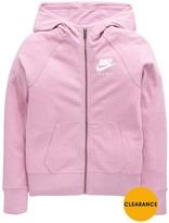 Nike Older Girls Gym Vintage Hoody Full Zip