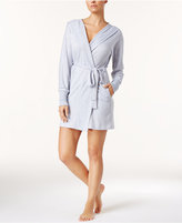 Ande Hooded Space-Dye Wrap Robe