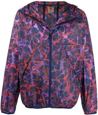 Nike Abstract-Print Lightweight Jacket