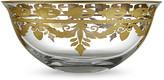 Arte Italica Vetro Gold Serving Bowl