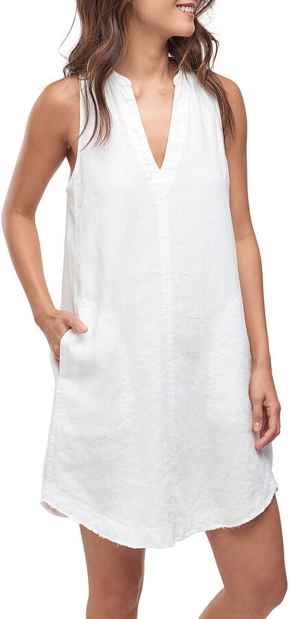 Thumbnail for your product : Splendid Joella Sleeveless Linen Tunic Dress