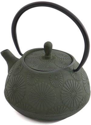 Berghoff Dark Green 1.1 L Cast Iron Teapot