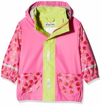 Playshoes Girl's Raincoat Strawberry Rain Jacket